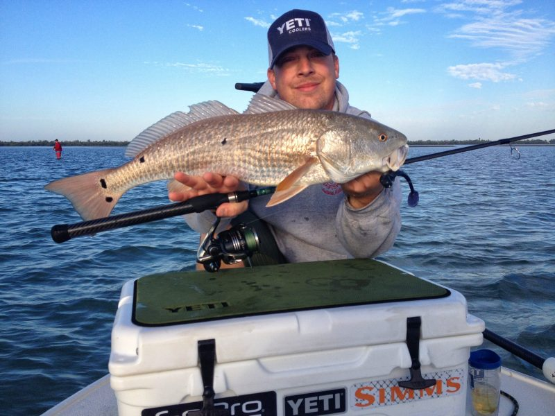 Yeti-Redfish-800x600 Gear Review: S1 Nano Sewell Custom Inshore Saltwater Spinning Rod Product Reviews
