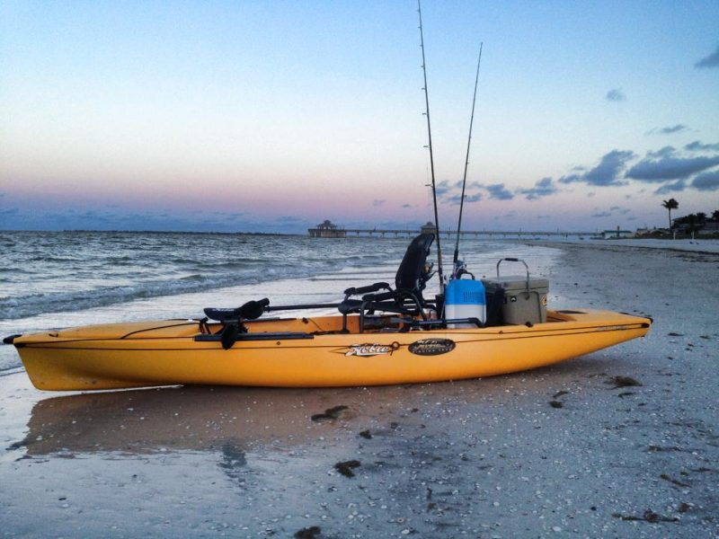 Yeti-Roadie-Hobie-Pro-Angler-14-Fort-Myers-800x600 Gear Review: The Yeti Roadie - The Ultimate Kayak Cooler Product Reviews