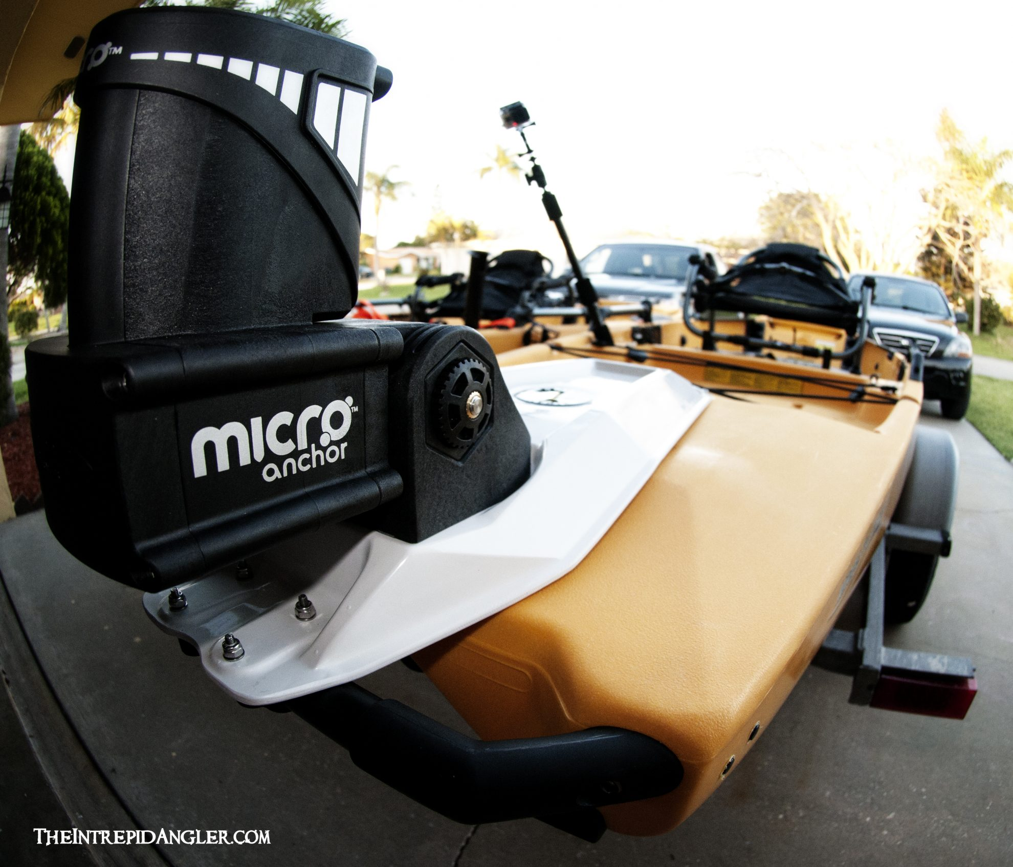 The Power Pole Micro Anchor System for Florida Inshore Kayak