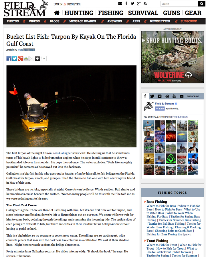 Intrepid-Angler-Field-and-Stream-Feature Field and Stream Magazine - Bucket List Fish: Tarpon Media