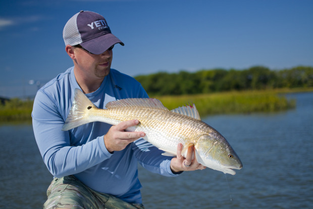 Yeti-Charleston-Redfish-620x413 Great Times In Low Country - Charleston Bay Shrimping & Red Fishing 2014 Reports Fishing Reports
