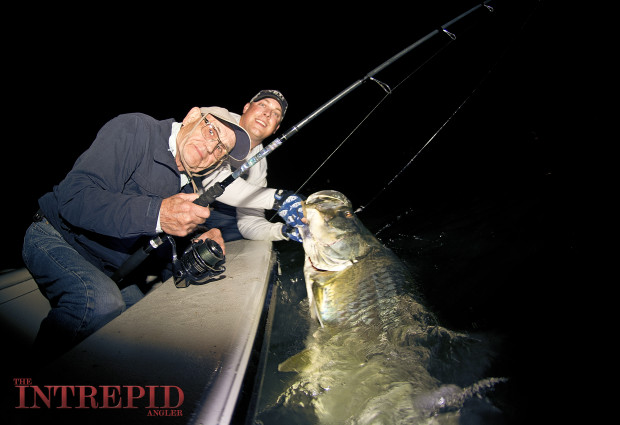 Ed_2_AFTCO_TARPON_SEWELL_BARBARIAN_HDUV_WM2-620x425 Spring Tarpon Kickoff: Early March Fish Beginning to Show - Fort Myers, Sanibel, Cape Coral, Pine Island 2015 Reports Fishing Reports