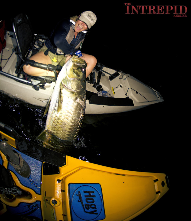LIZ-HOBIE-TARPON-BOATSIDE-LIFT-GRIP-WM-1200-620x715 In A Game Of Kings - Southwest Florida May Tarpon Report 2015 Reports Fishing Reports