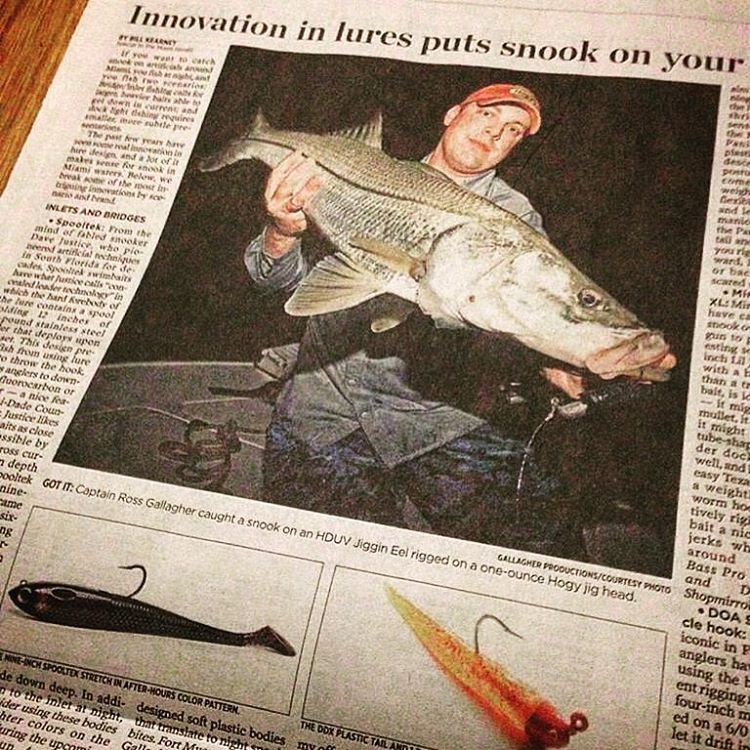 Miami-Herald-Ross-Gallagher-Snook Miami Herald - Night Snook Fishing Techinques Media