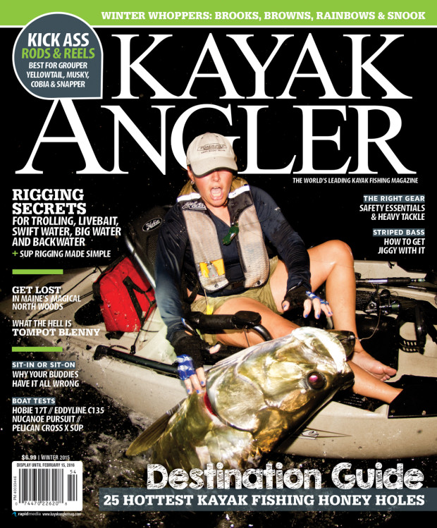 Kayak-Angler-Mag-Covershot-1200-1-620x749 Media: Kayak Angler Magazine Cover Shot December '15 Media
