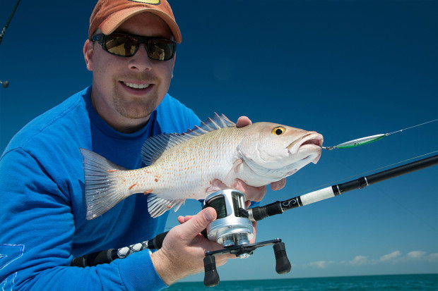 Light-Tackle-Jigging-Snapper-1200-620x413 What Lures To Bring On A Florida Keys Fishing Trip Blog How-To Offshore Fishing